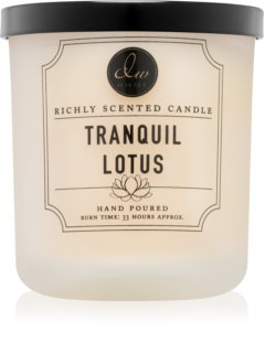 DW Home Tranquil Lotus scented candle