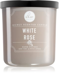 DW Home White Rose scented candle