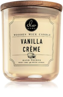 DW Home Vanilla Créme scented candle Wooden Wick