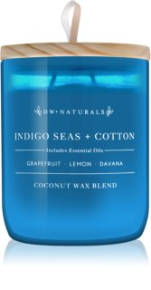 DW Home Indigo Seas + Cotton duftkerze