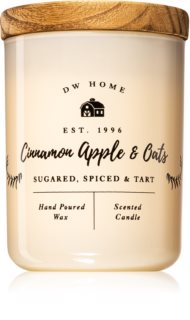 DW Home Cinnamon Apple & Oats scented candle