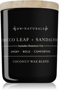 DW Home Tobacco Leaf + Sandalwood scented candle