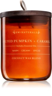 DW Home Salted Pumpkin + Caramel scented candle