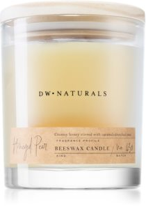 DW Home Beeswax Honeyed Pear geurkaars