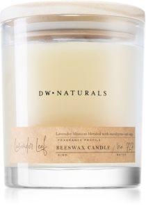 DW Home Beeswax Lavender Leaf bougie parfumée