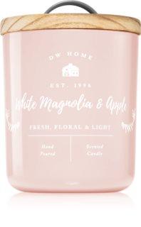 DW Home Farmhouse White Magnolia & Apple lumânare parfumată
