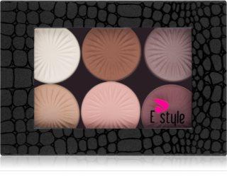 E style Magnetic Palette palette de fards à paupières