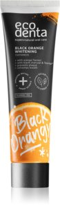 Ecodenta Expert Black Orange Whitening pasta de dientes blanqueadora con carbón negro sin flúor