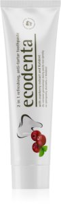 Ecodenta Green Tartar Eliminating Refreshing Toothpaste against Plaque With Fluoride