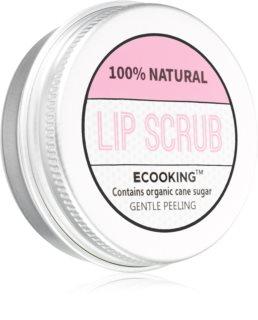 Ecooking Eco Hydraterende Suiker Peeling  voor Lippen
