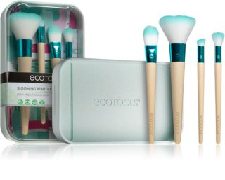 EcoTools Blooming Beauty Kit sada štetcov