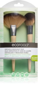EcoTools Define & Highlight Duo Set av borstar VII. för Kvinnor
