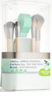 EcoTools Airbrush Complexion Brush Set (for Face) for Women