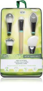 EcoTools Wake up and Glow brocha multiusos con 5 cabezales