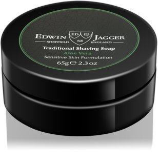 Edwin Jagger Aloe Vera Shaving Soap for Sensitive Skin