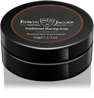 Edwin Jagger Sandalwood Shaving Soap For Normal Skin