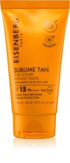 Eisenberg Sublime Tan Soin Solaire Anti-Âge Visage opaľovací krém na tvár SPF 15