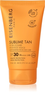 Eisenberg Sublime Tan Soin Solaire Anti-Âge Visage Anti-Wrinkle Facial Sunscreen SPF 30