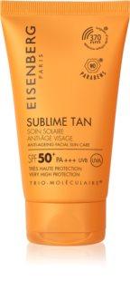 Eisenberg Sublime Tan Soin Solaire Anti-Âge Visage crème solaire visage anti-rides SPF 50+