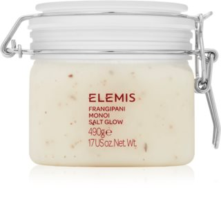 Elemis Body Exotics Frangipani Monoi Salt Glow мінеральний пілінг для тіла