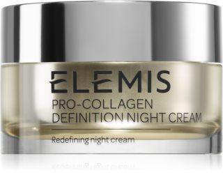 Elemis Pro-Collagen Definition Night Cream нощен стягащ лифтинг крем за зряла кожа