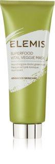 Elemis Superfood Vital Veggie Mask vyživující maska pro rozjasnění a vyhlazení pleti