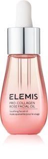 Elemis Pro-Collagen Rose Facial Oil zklidňující olej pro rozjasnění a vyhlazení pleti