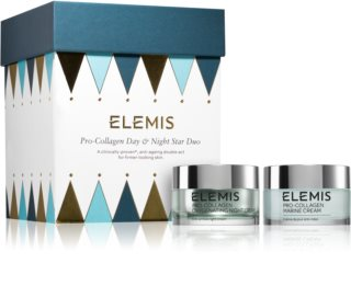 Elemis Pro-Collagen Day & Night Star Duo Cosmetic Set (with Anti-Wrinkle Effect) for Women