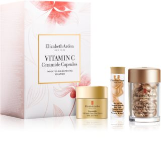 Elizabeth Arden Vitamin C Ceramide Capsules Radiance Renewal Serum Cosmetic Set (with Brightening Effect)
