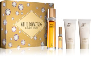 Elizabeth Taylor White Diamonds confezione regalo III. da donna