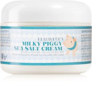 Elizavecca Milky Piggy Sea Salt Cream Protective Regenerating Moisturiser