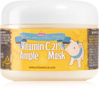 Elizavecca Milky Piggy Vitamin C 21% Ample Mask Hydrating and Brightening Mask for Tired Skin