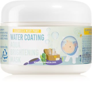 Elizavecca Milky Piggy Water Coating Aqua Brightening Mask Collagen Mask for Radiance and Hydration