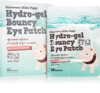 Elizavecca Milky Piggy Hydro-gel Bouncy Eye Patch maschera rigenerante e idratante per il contorno occhi