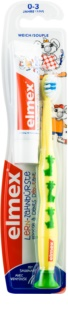Elmex Caries Protection Kids brosse à dents pour enfants soft + mini dentifrice