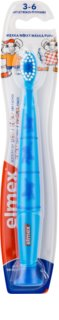 Elmex Kids 3-6 Years Kinder Tandenborstel met Zuignap