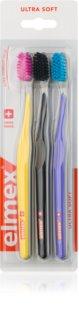 Elmex Swiss Made zobne ščetke 3 kos ultra soft