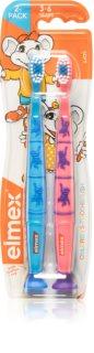 Elmex Children's Toothbrush zubná kefka pre deti soft