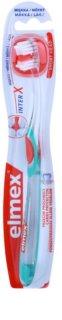 Elmex Caries Protection interX  zubná kefka s krátkou hlavou soft