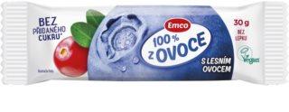 Emco 100 % z ovoce tyčinka s lesním ovocem
