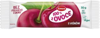 Emco 100 % z ovoce tyčinka s višněmi