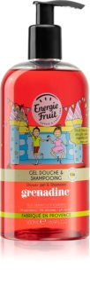 Energie Fruit Grenadine Shower Gel And Shampoo 2 In 1