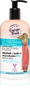 Energie Fruit Monoi 2 in 1 Maske für beschädigtes Haar