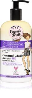 Energie Fruit Caramel masca 2 in 1 pentru par uscat