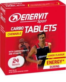 ENERVIT Carbo Tablets podpora sportovního výkonu příchuť lemon