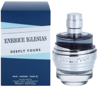 Enrique Iglesias Deeply Yours eau de toillete για άντρες