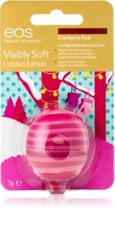EOS Visibly Soft Cranberry Pear feuchtigkeitsspendendes Lippenbalsam