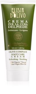 Erbario Toscano Elisir D'Olivo Foot Cream with Nourishing and Moisturizing Effect