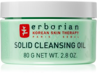 Erborian 7 Herbs Solid Cleansing Oil βάλσαμο για ντεμακιγιάζ και καθαρισμό 2 σε 1