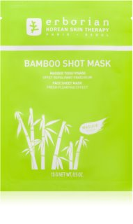 Erborian Bamboo nourishing face sheet mask with Moisturizing Effect